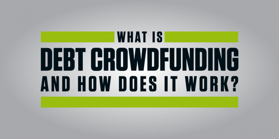 What is debt crowdfunding and how does it work?